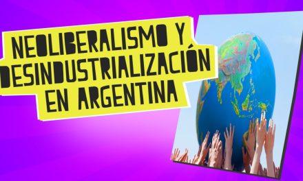 ¿Hay que desindustrializar Argentina?