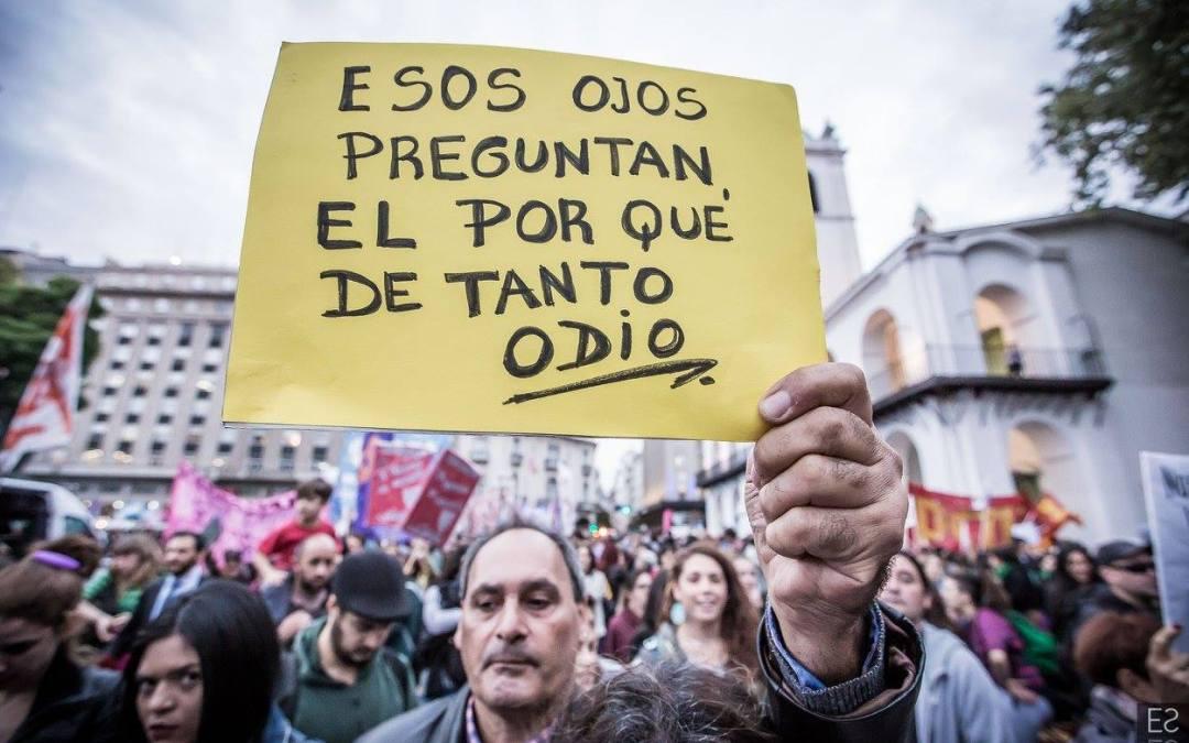 Argentina: Cuando el odio entra en campaña