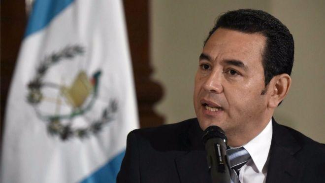 La economía guatemalteca con Jimmy Morales