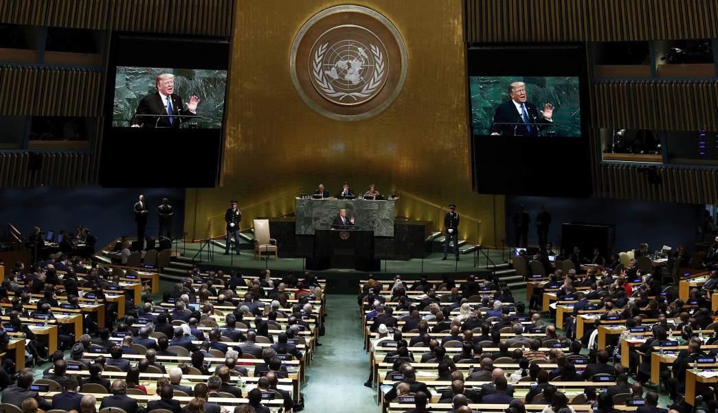 """La ONU y la """"doctrina"""" Trump"""