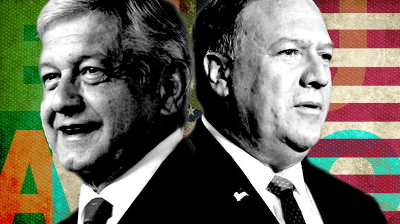 ¿Nuevas relaciones EE.UU.-México? Lo que dejó la visita de Pompeo