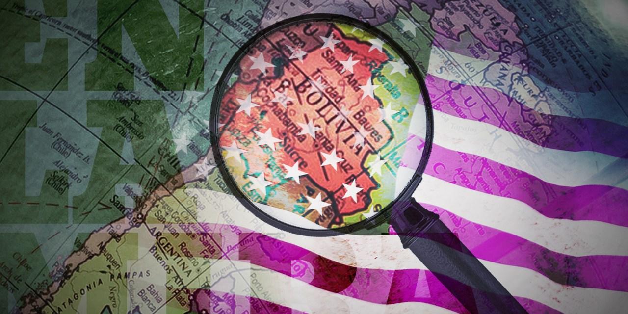 Los intereses de EE.UU. en la Bolivia del MAS
