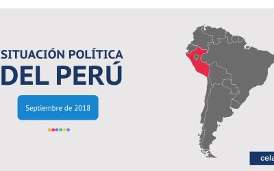 Estudio cuantitativo de opinión: situación política del Perú