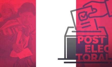 Informe postelectoral: regionales y municipales Perú 2018