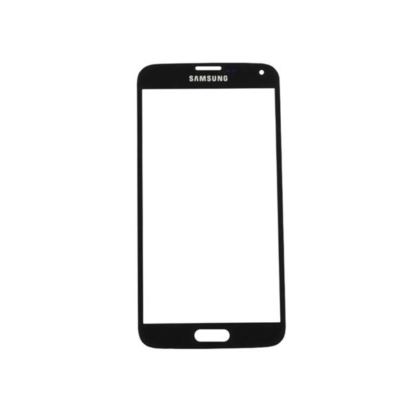 Tactil Mica Vidrio para Samsung Galaxy S5 negro_ Celcentro
