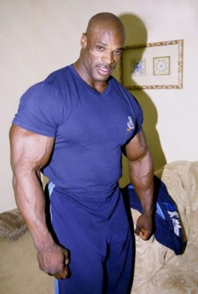 Ronnie Coleman Body Size, Height And Weight 2014