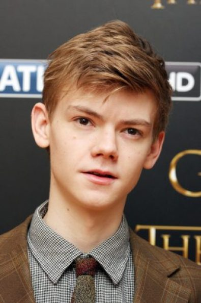 Thomas Brodie-Sangster Chest Biceps size