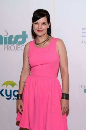 Pauley Perrette height and weight 2016