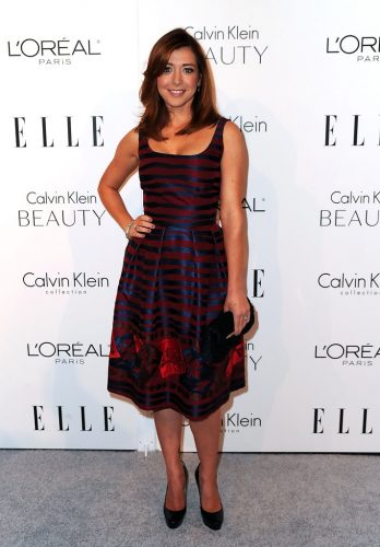 Alyson Hannigan height and weight 2016