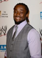 Kofi Kingston Chest Biceps size