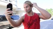 Tyler Breeze Chest Biceps size