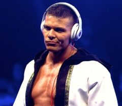 Tyson Kidd Chest Biceps size
