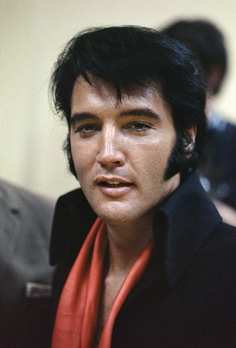 Elvis Presley Chest Biceps size
