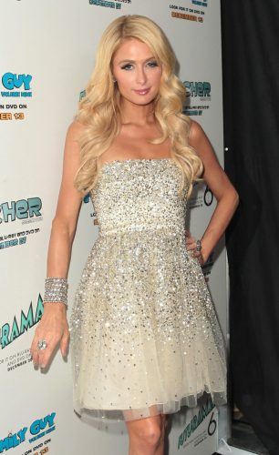 Paris Hilton height and weight 2017