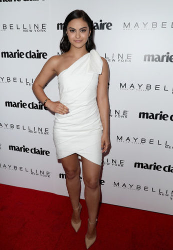 Camila Mendes height and weight 2017