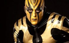 Goldust Chest Biceps size