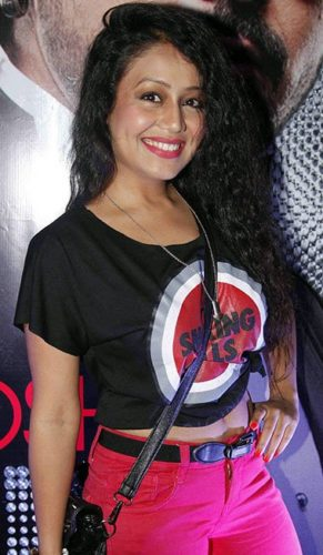 Neha Kakkar height and weight 2017