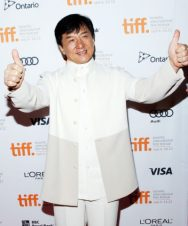 Jackie Chan Chest Biceps size