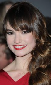 Lily James height and weight