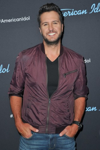 Luke Bryan Chest Biceps size