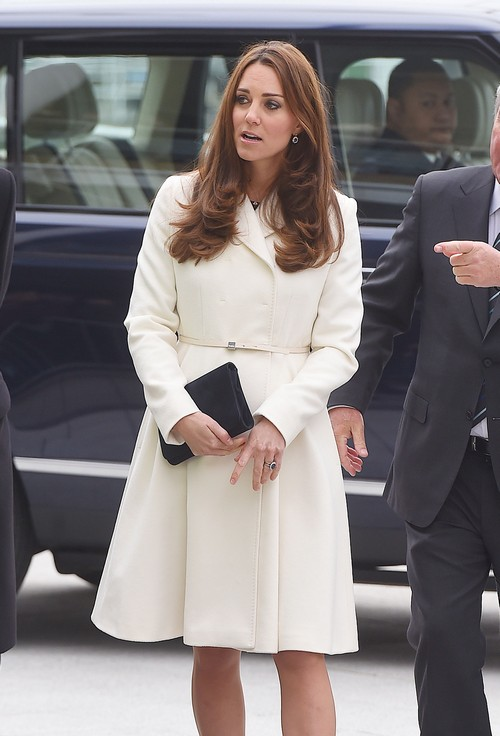 The Duchess Of Cambridge Visits Portsmouth Celeb Dirty