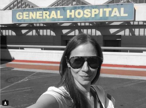 General Hospital Spoilers Tamara Braun On Set Filming