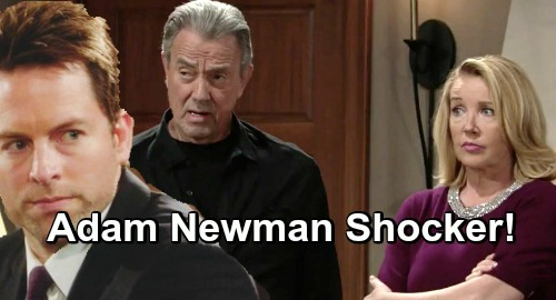 The Young and the Restless Spoilers Adam Newman Secret