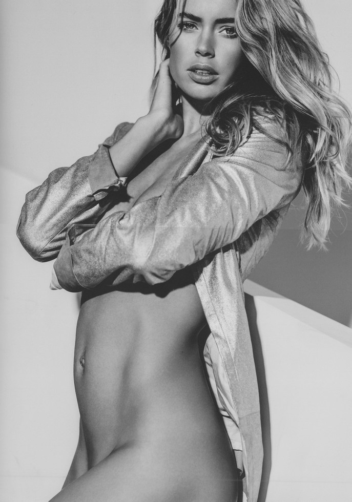 Doutzen Kroes Naked for 'Angels' by Russell James