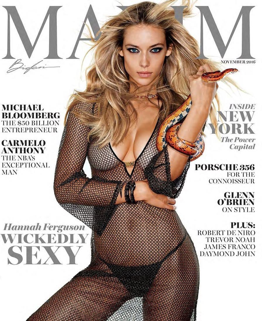 Hannah Ferguson – Maxim Magazine Photoshoot (November 2016)