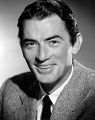Gregory Peck Height  How tall