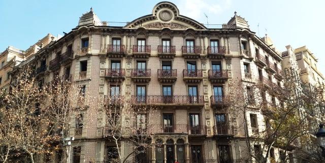 Barselona mimari