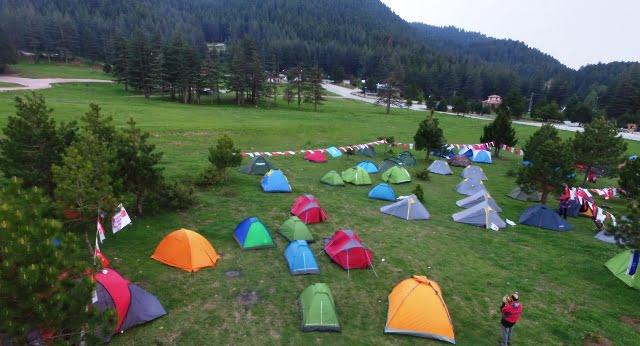 Başkonuş Yaylası kamp