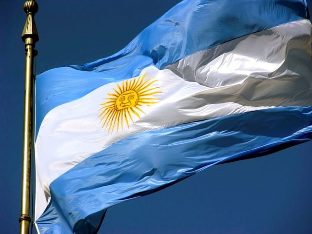 arjantin bayrak