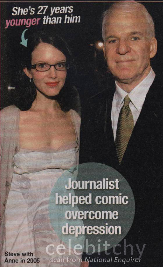 Celebitchy Steve Martin Marries Journalist