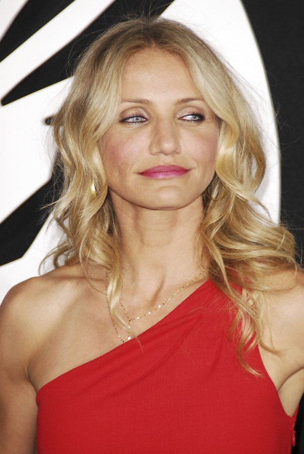 Cameron Diaz Mask Red Dress