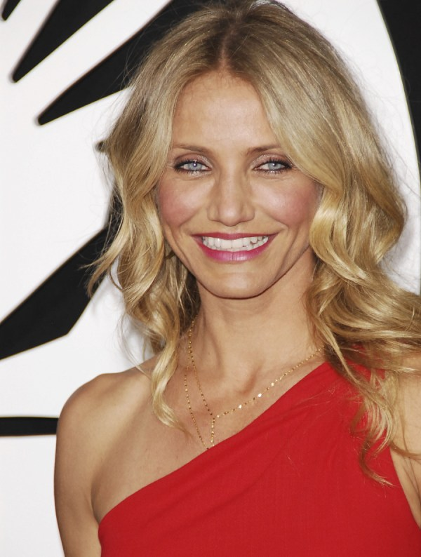 Cameron Diaz In Red Azzaro