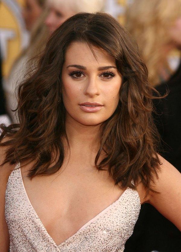 Cele Bitchy Lea Michele Of Glee Barbra