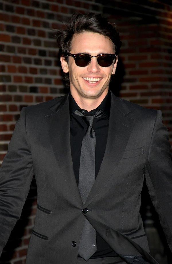 James Franco Wearing Sunglasses
