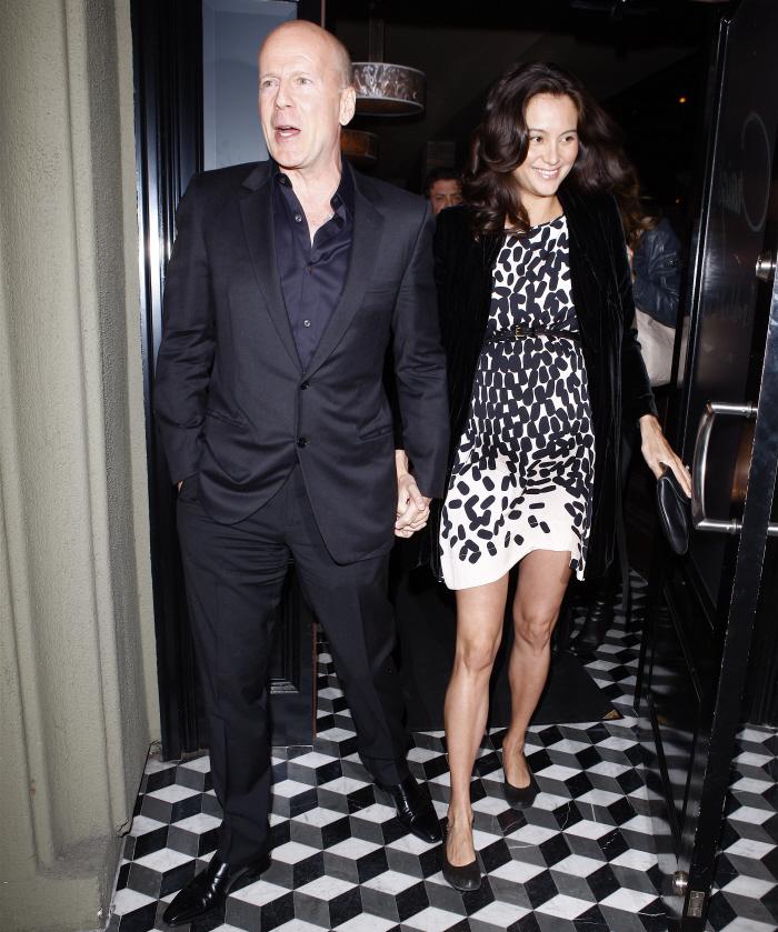 Bruce Willis & Emma Heming