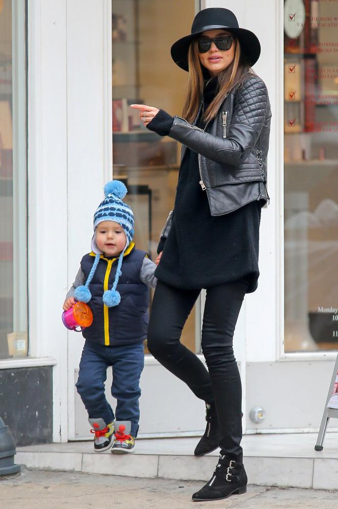 Miranda Kerr og sønnen Flynn Kerr-Bloom