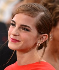 Cele|bitchy | Emma Watson in peekaboo red Dior at the ...