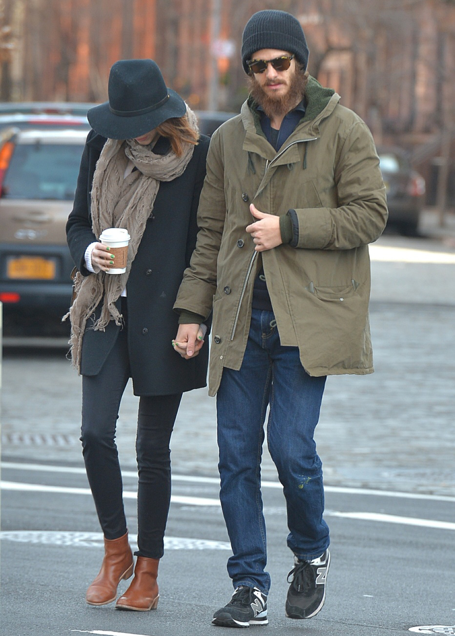 Andrew Garfield's beard has gotten loopy: hipster nonsense or next-level hobo?