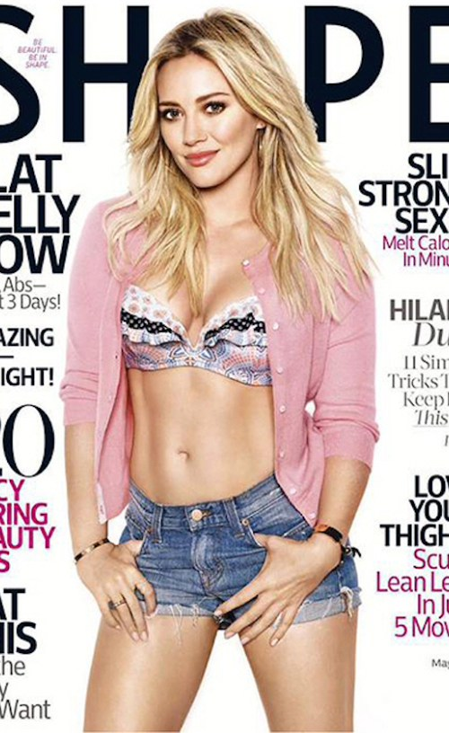 Hilary Duff covers Shape, wants primary physical custody of son Luca