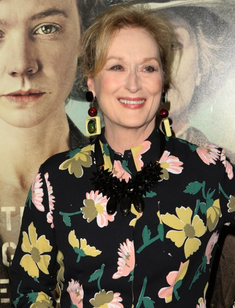 Meryl Streep wears '70s floral Marni to 'Suffragette' premiere