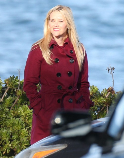 Exclusive... Stars On The Set Of 'Big Little Lies'