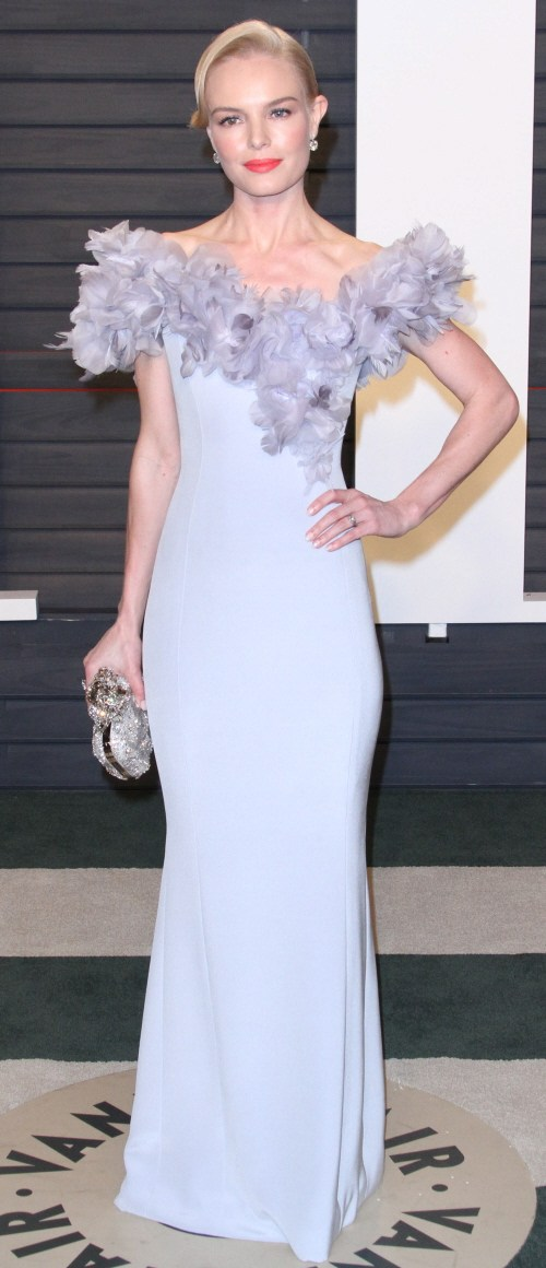 Kate Hudson in Maria Lucia Hohan at the VF Oscar party: under-styled or fine?