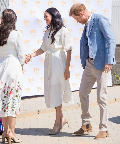 Il principe Harry e Meghan, duchessa del Sussex, visitano Johannesburg, in Sudafrica