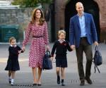La principessa Charlotte viene avvistata nel suo primo giorno di scuola a Londra!