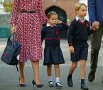 La principessa Charlotte per iniziare la scuola