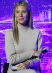 Gwyneth Paltrow all'inaugurazione del JVP International Cyber Center